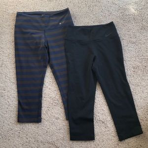 Lot of 2 Nike tights